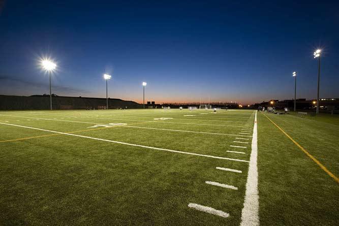 Impianti di illuminazione a led per impianti sportivi
