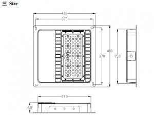 HL-40x40-W - DIM